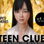 TEEN CLUB 001-02 Yuka Nishizawa in Aesthetic Salon by Kiga Natsuno