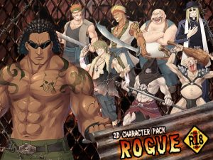 [RE297367] 2D characters pack ROGUE R18