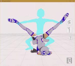 [RE300537] 3D custom girl motion (normal pose)