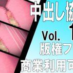 [Copyright Free] Internal Cumshot Cross-section Ero Animation Material Set Vol. 1