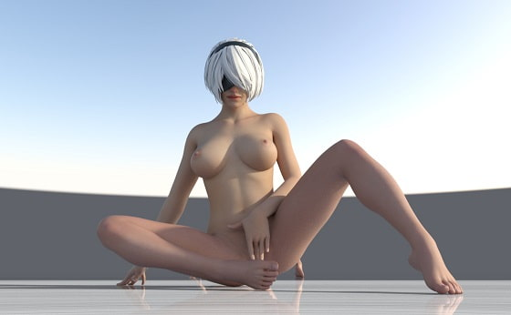 Naked Nier By 3D Creation