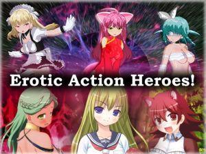 [RJ335582] Erotic Action Heroes!