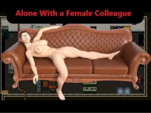 [RJ349554] Alone with a female colleague (English version)